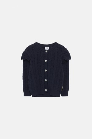 Hust & Claire - Caris cardigan, navy
