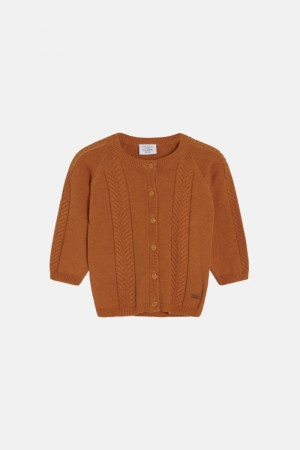 Hust & Claire - Charlie cardigan, caramel
