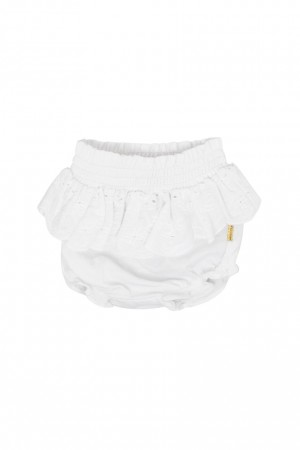 Hust & Claire - Hula shorts, white