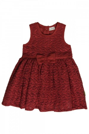 Hust & Claire  - Kjole anglaise broderi red dahlia, baby