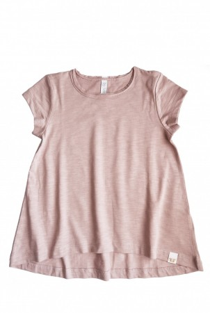 By Heritage - Ebba tunika, solid vintage pink